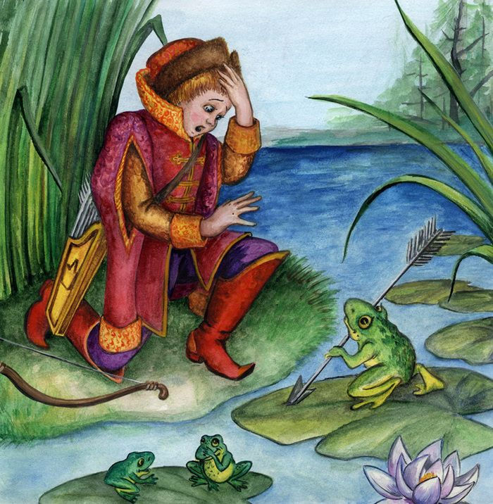 Картинки сказки царевна лягушка, поздравлениями учителю картинки
