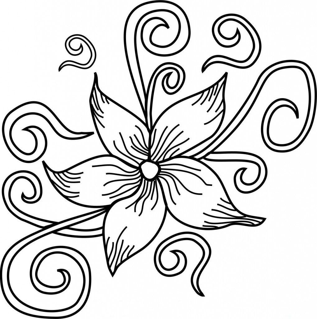 Malvorlagen zum ausdrucken  Blumen ausmalbilder, Malvorlagen