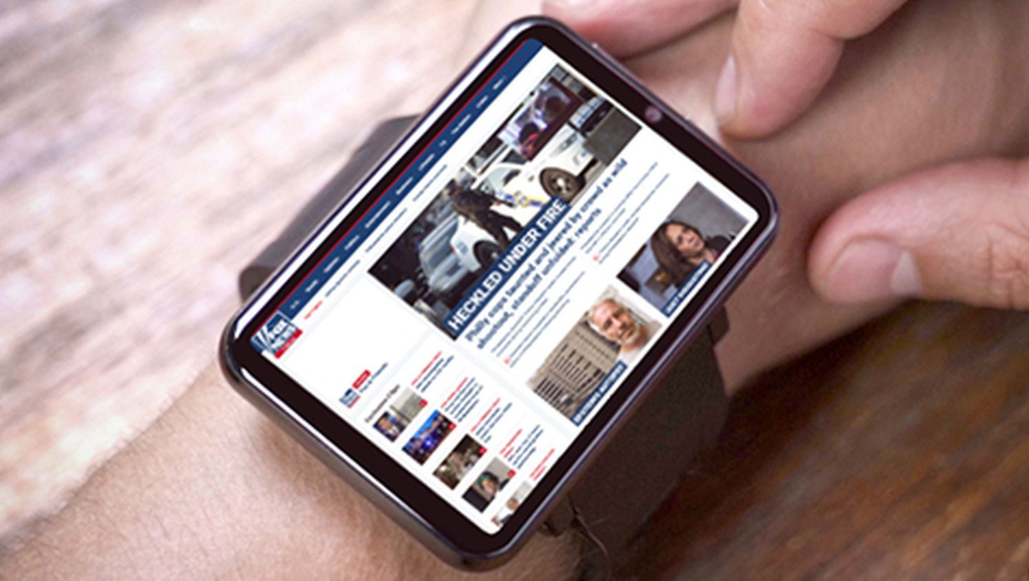 This Android wrist computer could be more powerful than an
