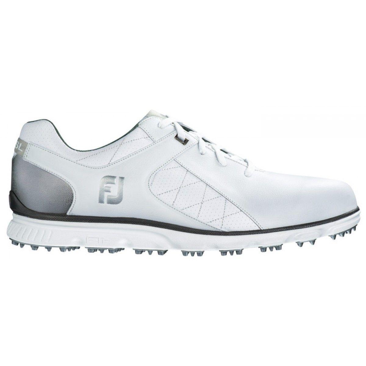 FootJoy Pro/SL 53579 White/Silver Golf