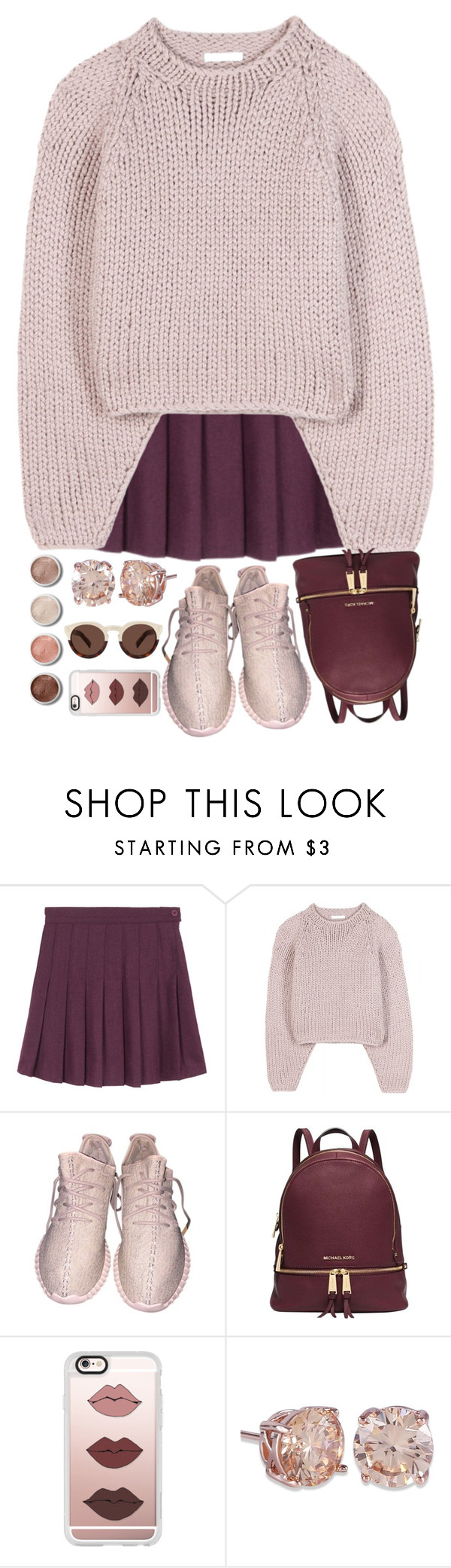 """""""Mama just killed a man"""" by shayscof ❤ liked on Polyvore featuring Chloé, Michael Kors, Casetify, Terre Mère and Illesteva"""