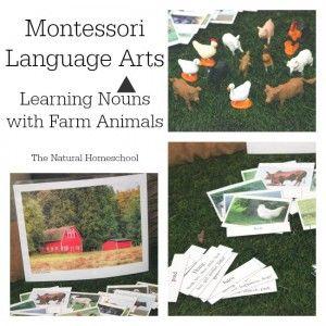 *FREE* Farm Animals Language Arts Printables