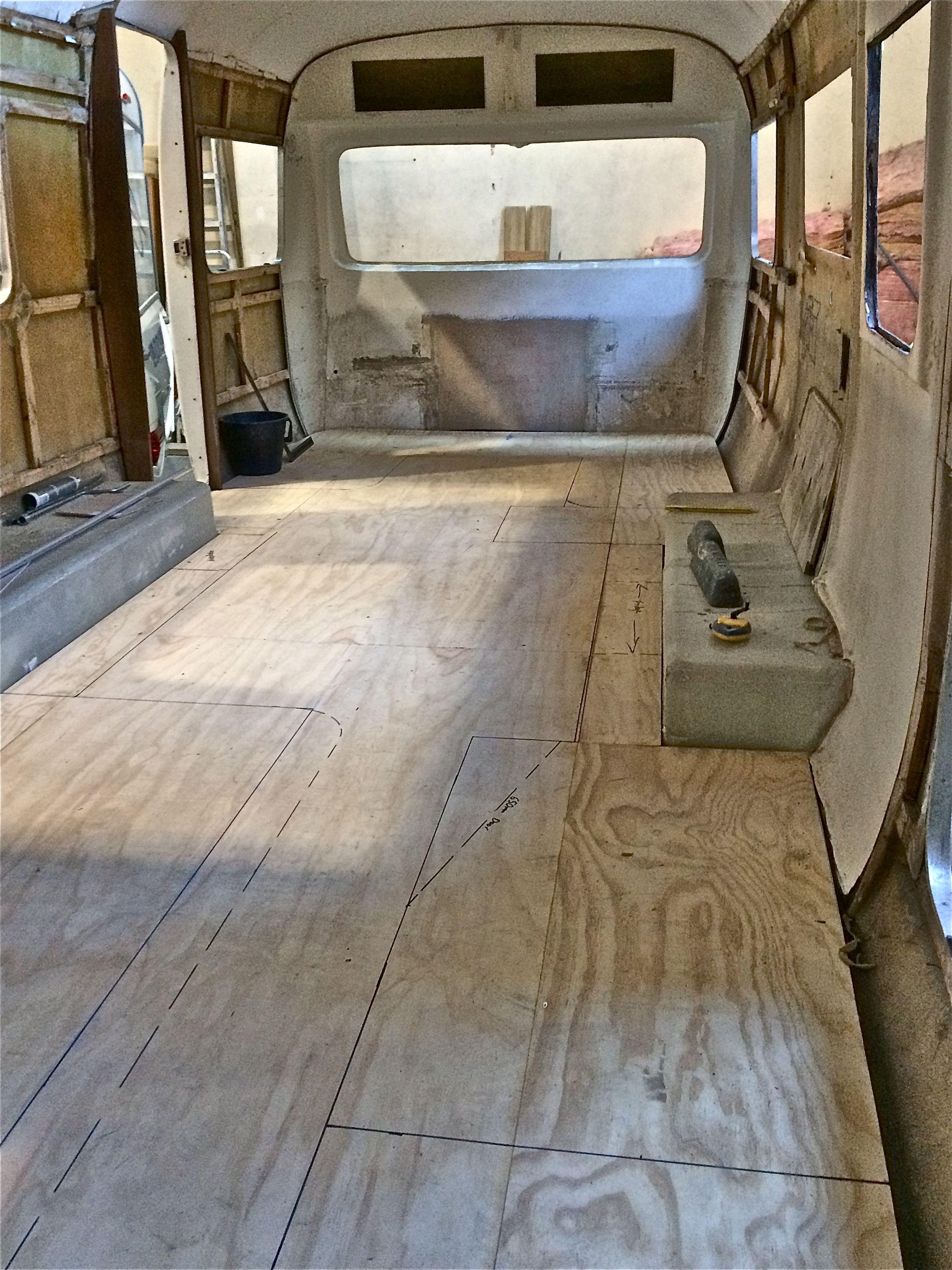 Internal Layout Being Drawn Up Concord Caravan Rebuild Pinterest