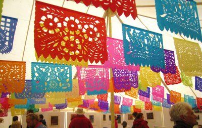 What Is The Official Name Of These Mexican Cut Paper Decorations