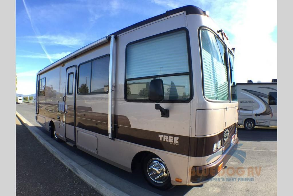 Used 1991 Safari Trek Motor Home Class A Diesel For Sale At Blue Dog Rv Fife Wa 210085k Motorhome Diesel For Sale Trek