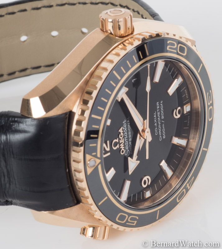 Omega Seamaster Planet Ocean : 232.63.42.21.01.001 : Bernard Watch
