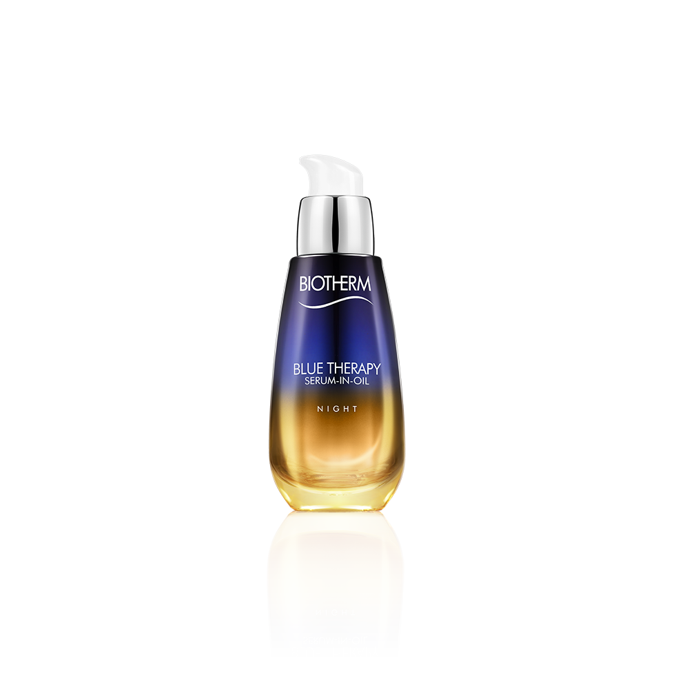 Blue Therapy Night Serum In Oil By Biotherm Biotherm Biotherm Blue Therapy Oil Wrinkles