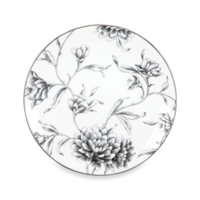 Marchesa by Lenox® Floral Illustrations 9-Inch Accent Plate - BedBathandBeyond.com