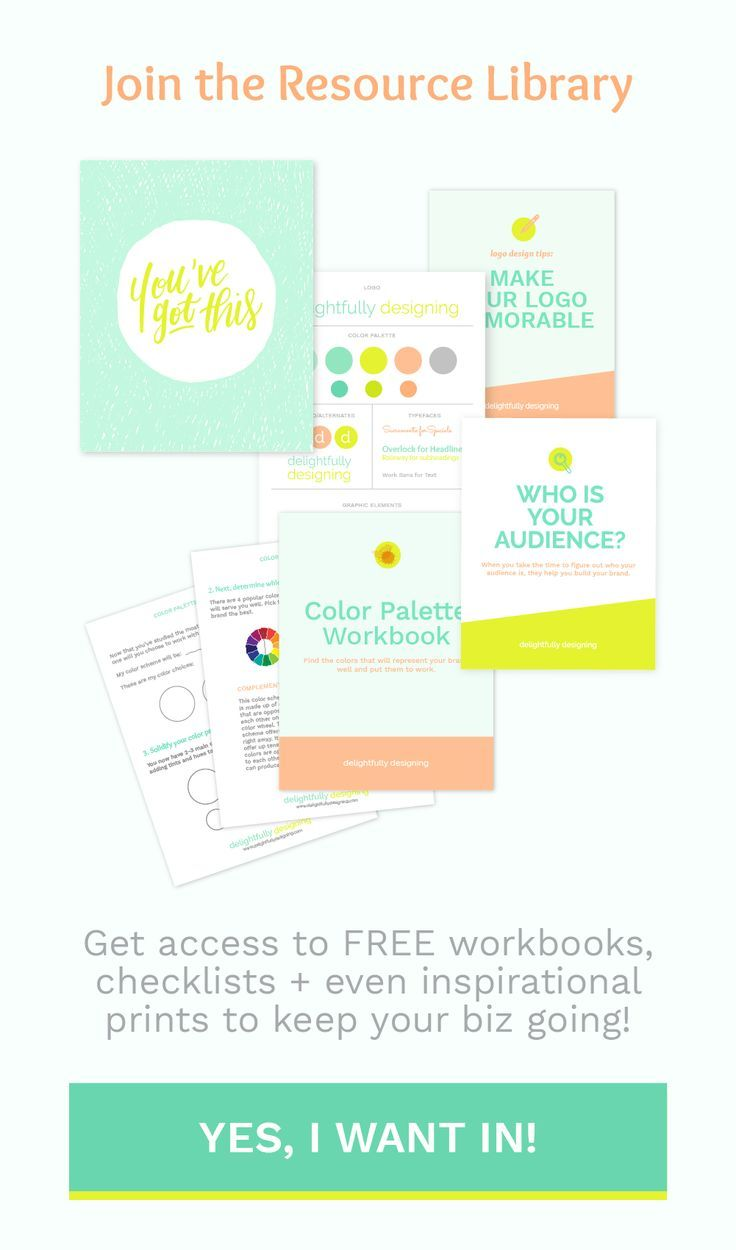Get FREE workbooks, checklists, inspirational prints + more when you ...