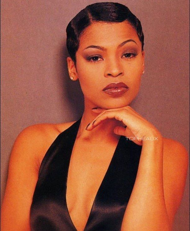 Image result for nia long short hair
