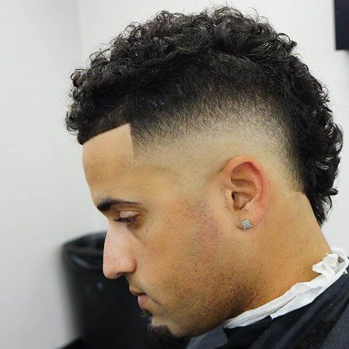 45+ Burst fade with curls ideas in 2021