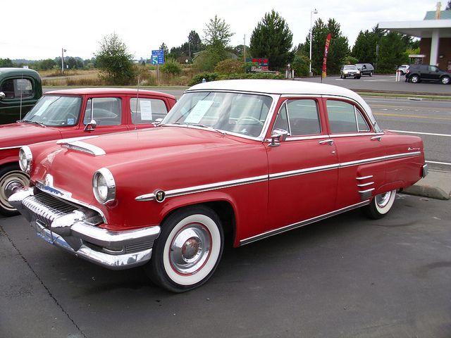 1954 mercury bilar for Ferman motor car company