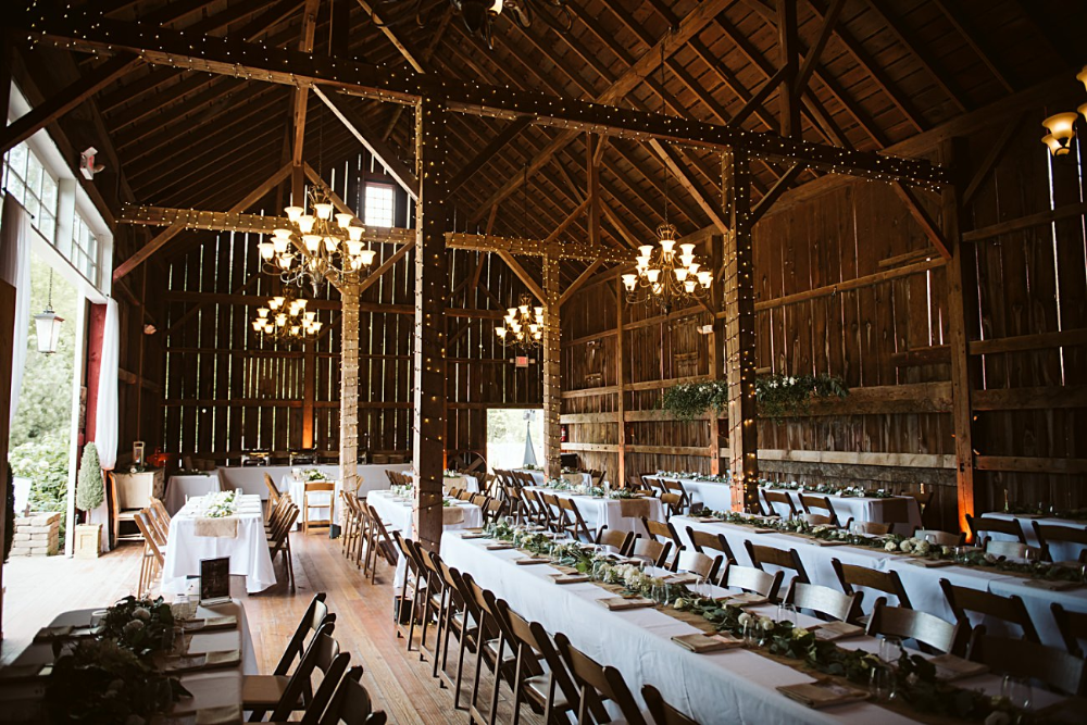 GINA & TOM Barn wedding reception, Barn wedding, Wedding