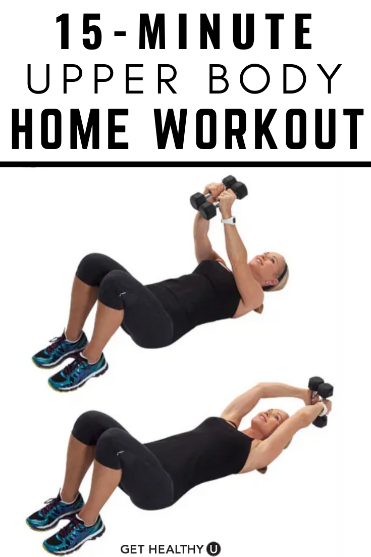 Your Upper Body Workout At Home - Get Healthy U