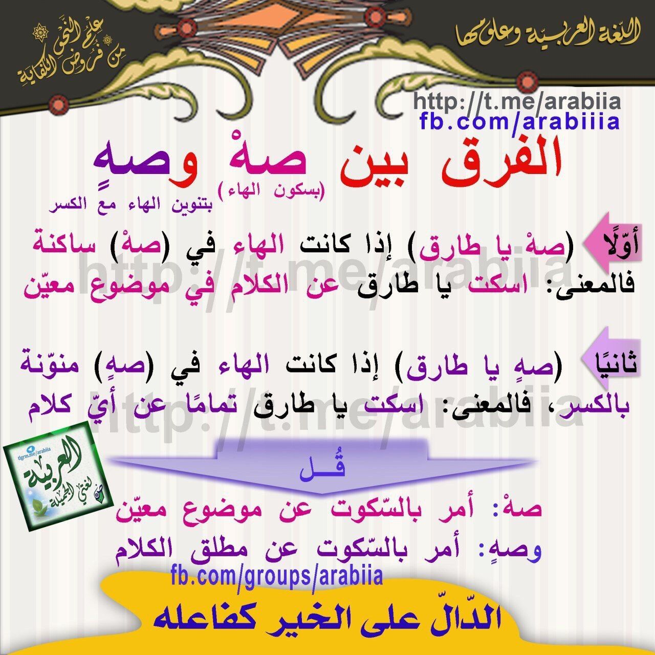 Pin By Hana On Arabic Langauge Beautiful Arabic Words Learn Arabic Language Arabic Langauge