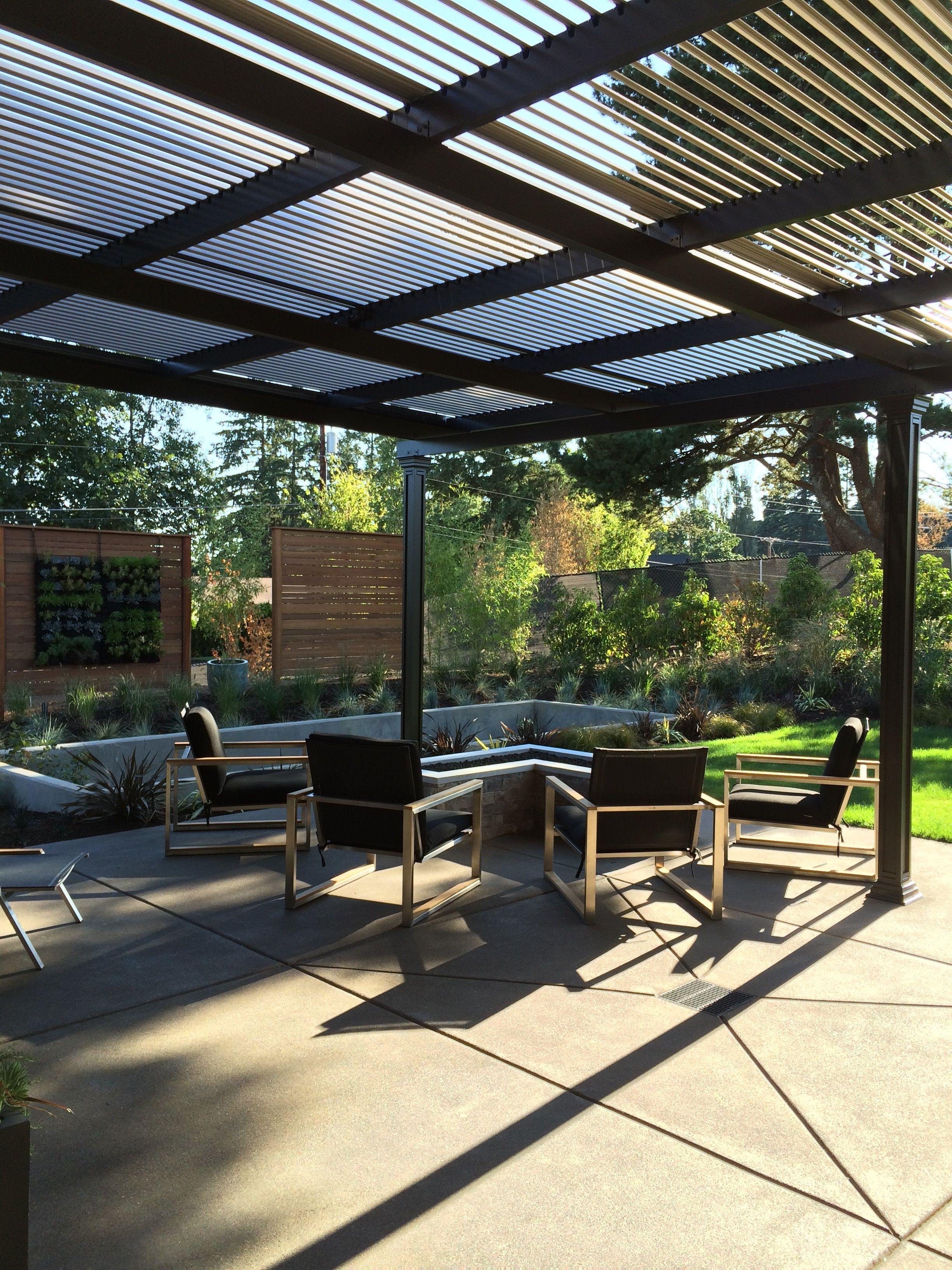 Outdoor Living room from NW Street of Dreams | Outdoor ... on Outdoor Living Spaces Nw id=51113
