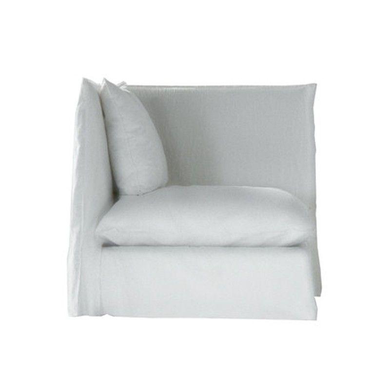 967 EUR Affordable product Corner / end element Gervasoni Ghost 07 design Paola Navone of Gervasoni.