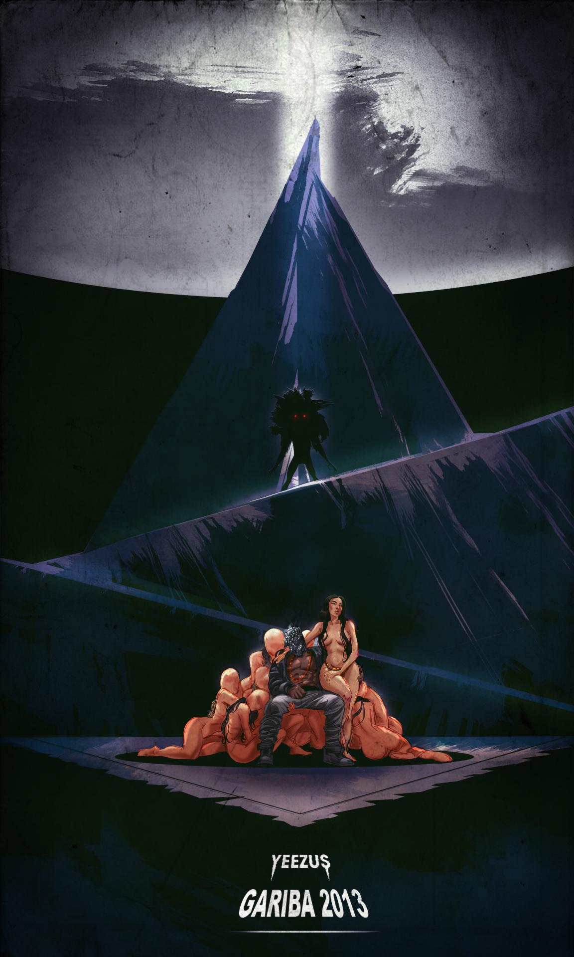 Gariba Tour Posters Kanye West Tour Homies