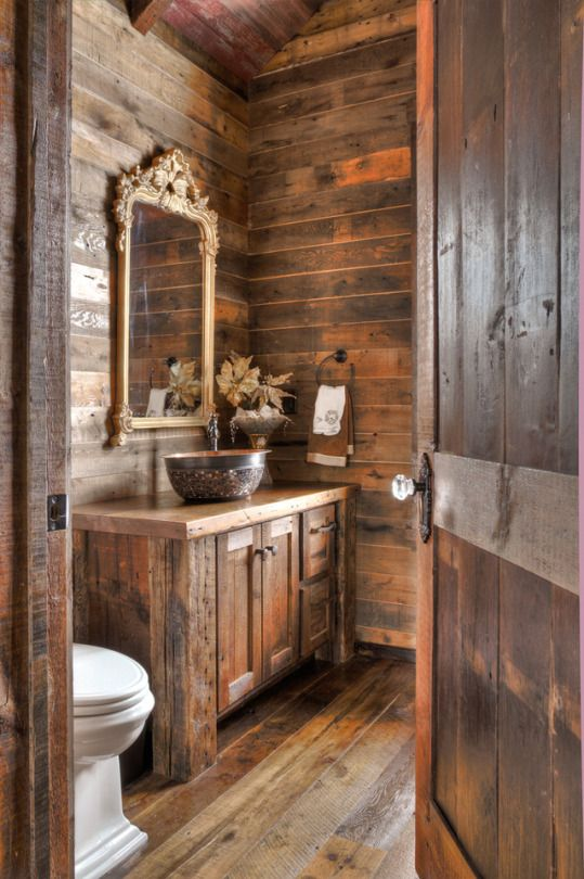Rustic Log Homes Pinterest Crackpot Baby Bano De