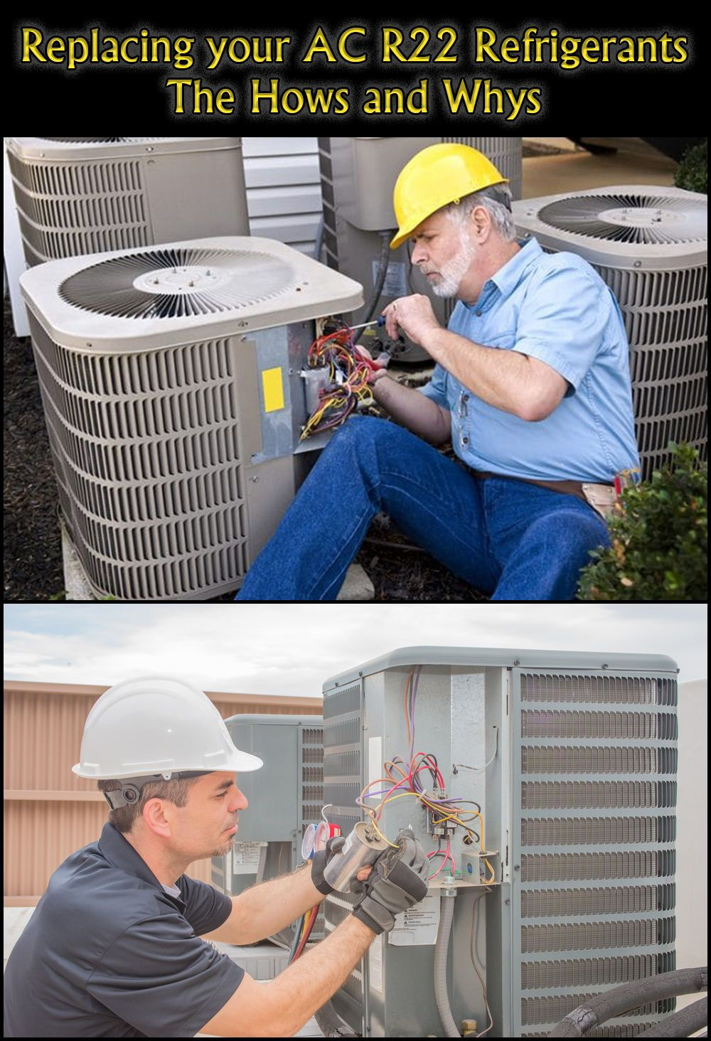 Replacing your AC R22 Refrigerants The Hows and Whys