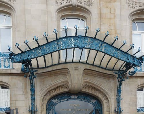 Ferronneries De Louis Majorelle La Chambre De Commerce Et D Industrie Du Meurthe Et Moselle A Nancy