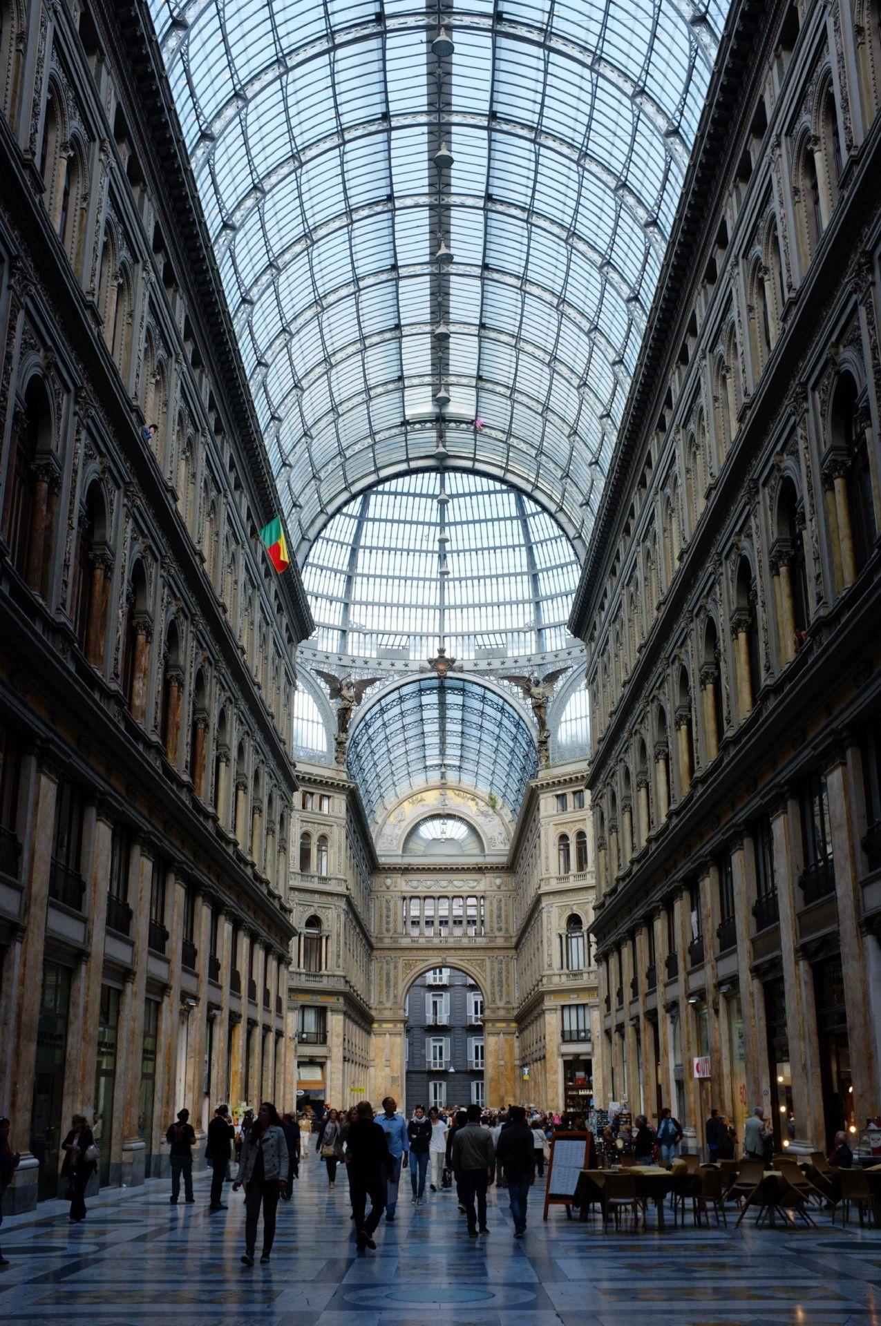 Galleria Umberto I. Naples, May 2012.