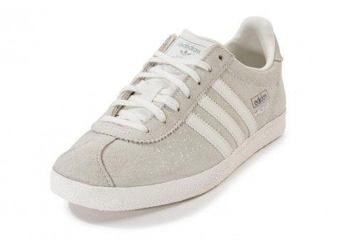 basket adidas gazelle grise femme