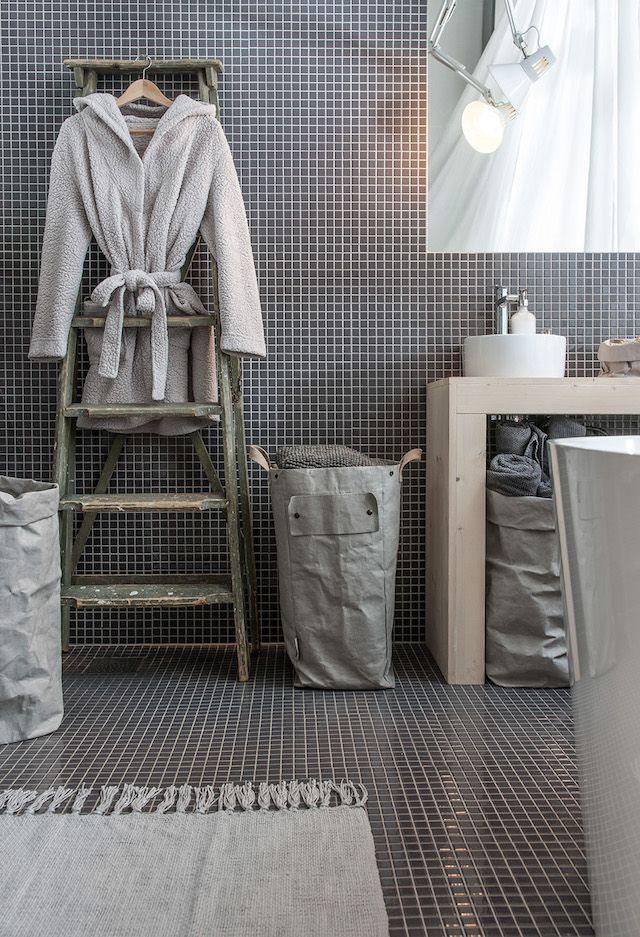 Des id es de rev tement de plancher pour la salle de bain Revetement mural pour salle d eau