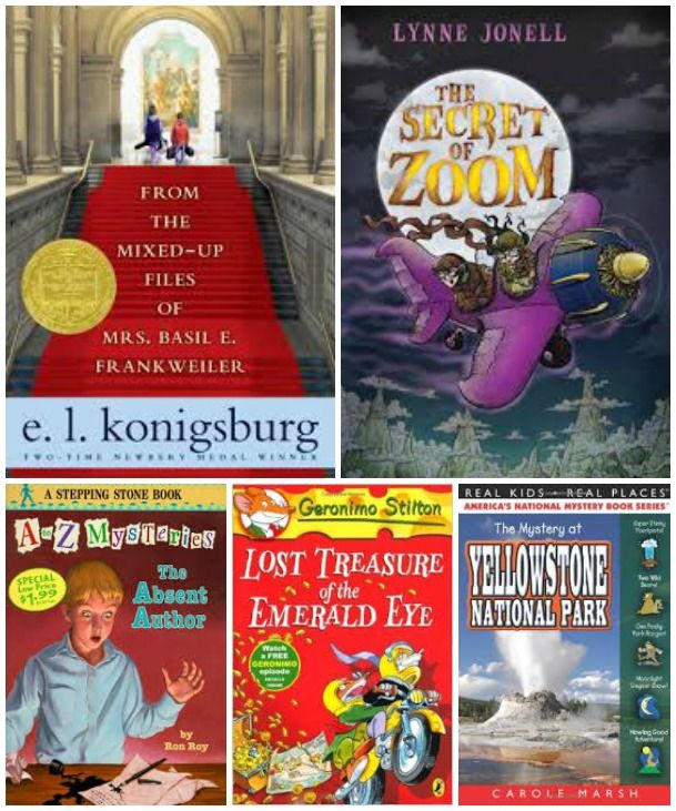 Awesome mystery/detective chapter books for kids!