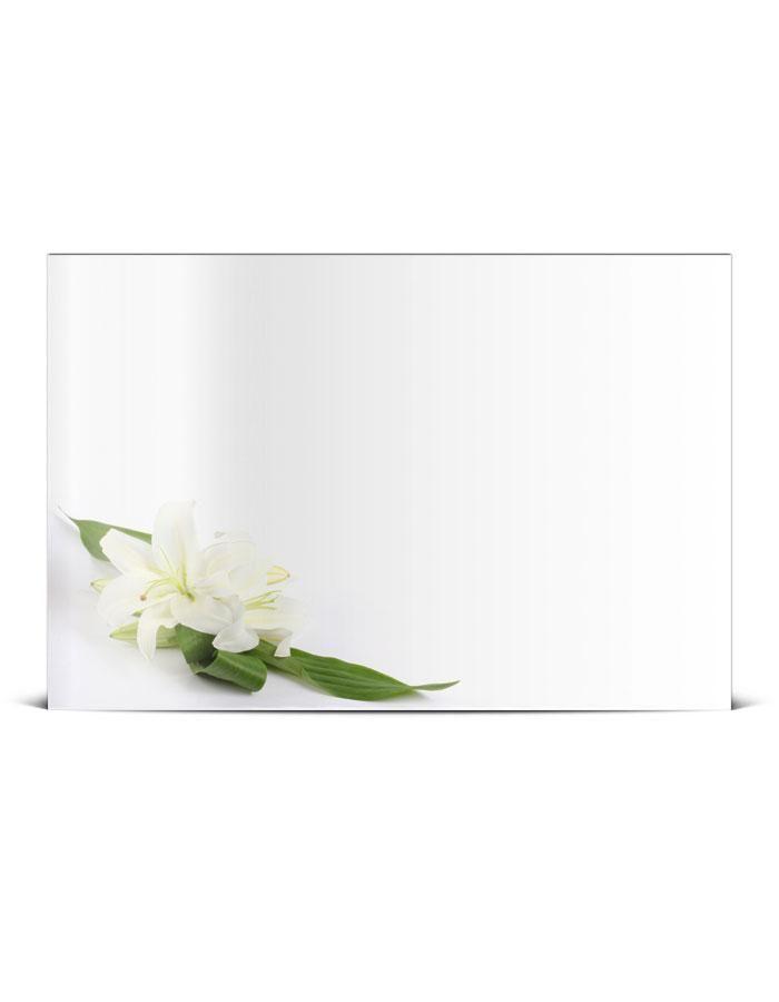 Faire Part Mariage Simple Avec Fleurs De Lys My Dream Wedding