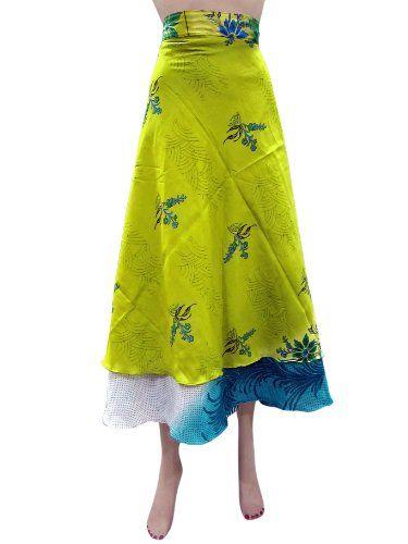 Sarong Reversible Wrapskirt Lemon Sari Hippie Skirts Beach Wear Dresses Mogul Interior,http://www.amazon.com/dp/B00HXCITXS/ref=cm_sw_r_pi_dp_ZfX2sb1MHF2QR1HE