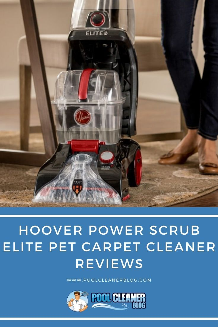Hoover power scrub elite pet carpet cleaner reviews in