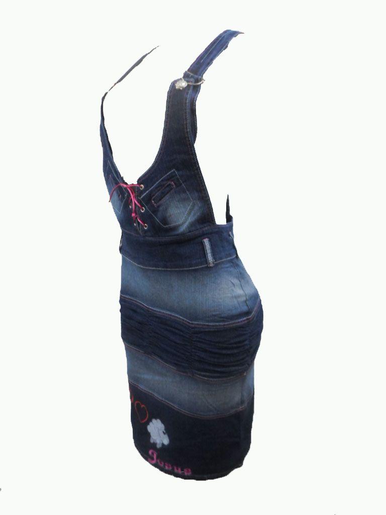 fea551497e falda braga en tela jeans stress tallas de la 8 a la 14 colores surtidos