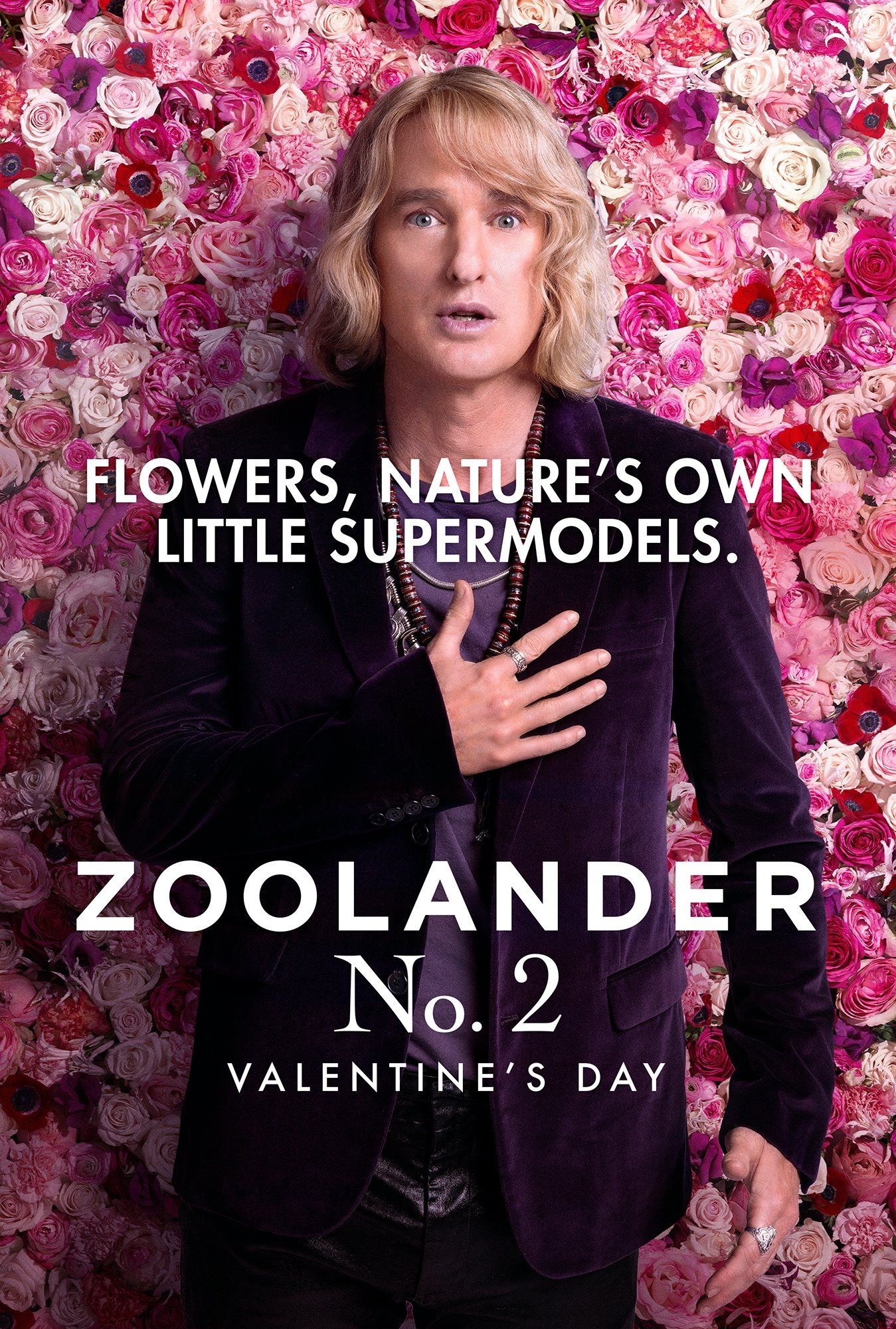 Flowers natures own little supermodels  Hansel  ZOOLANDER 2