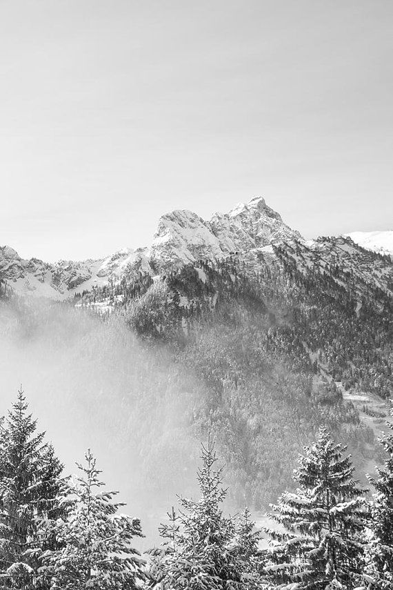 Mountain range monochrome downloadable prints black and white nature prints mountain print mountain poster art above bed art photography a1 mountain range