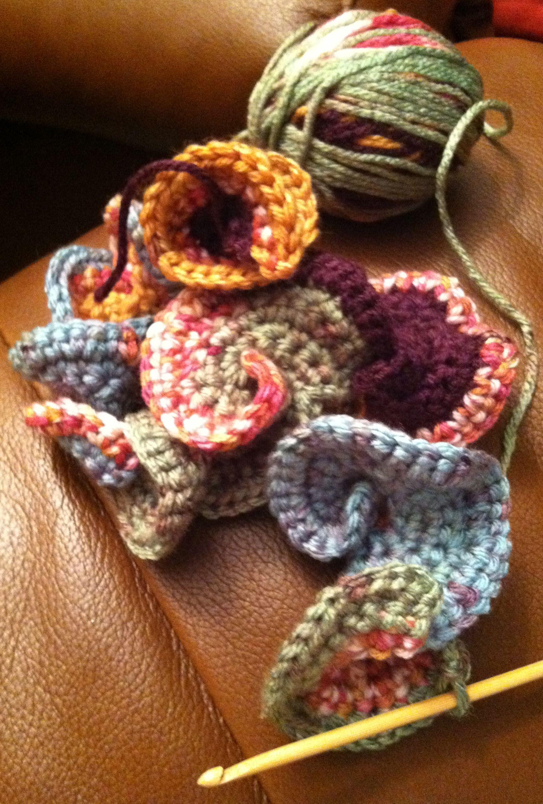 Hyperbolic Freeform Crochet Sculpture   Rose häkeln, Häkeln und Stricken