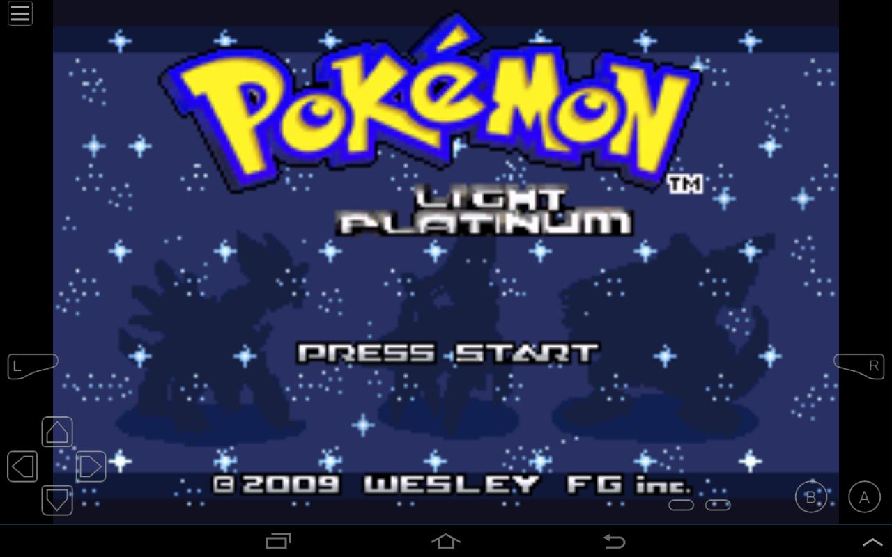 pokemon gba platinum