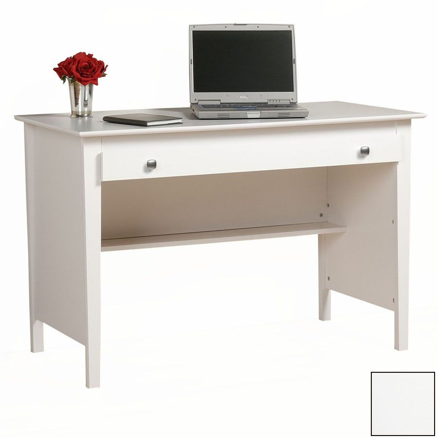 Contemporary White Wood Office Table Desks Furniture