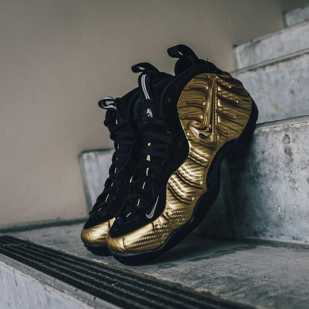 be8575a4a4780 Nike Air Foamposite Pro Metallic Gold