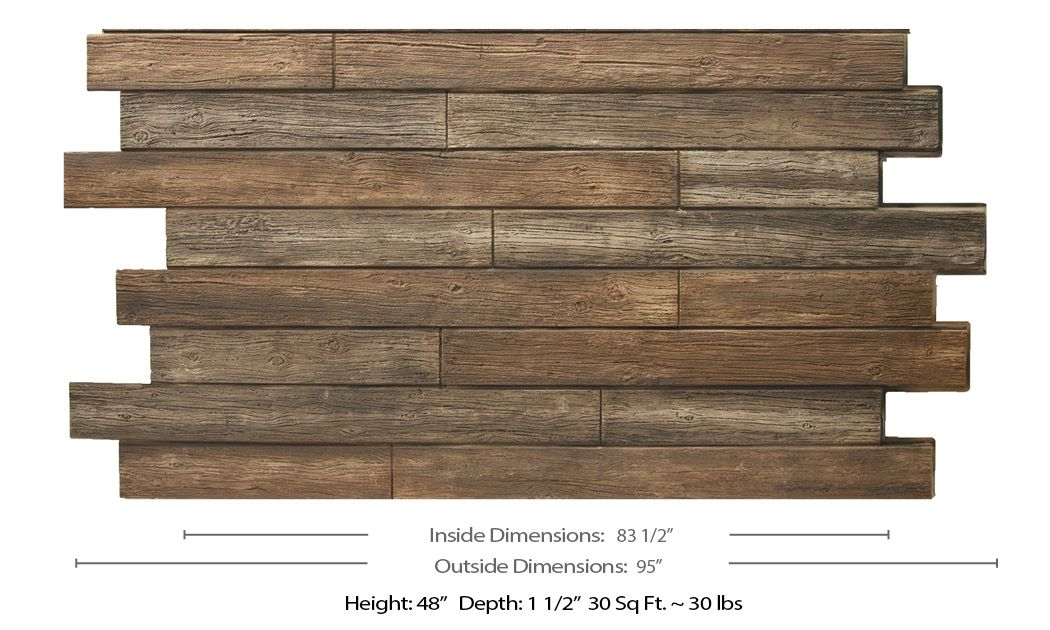 Tongue And Groove Wood 4x8 Dp2426 Con Imagenes Cabeceras Palets