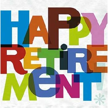 happy retirement banner printable