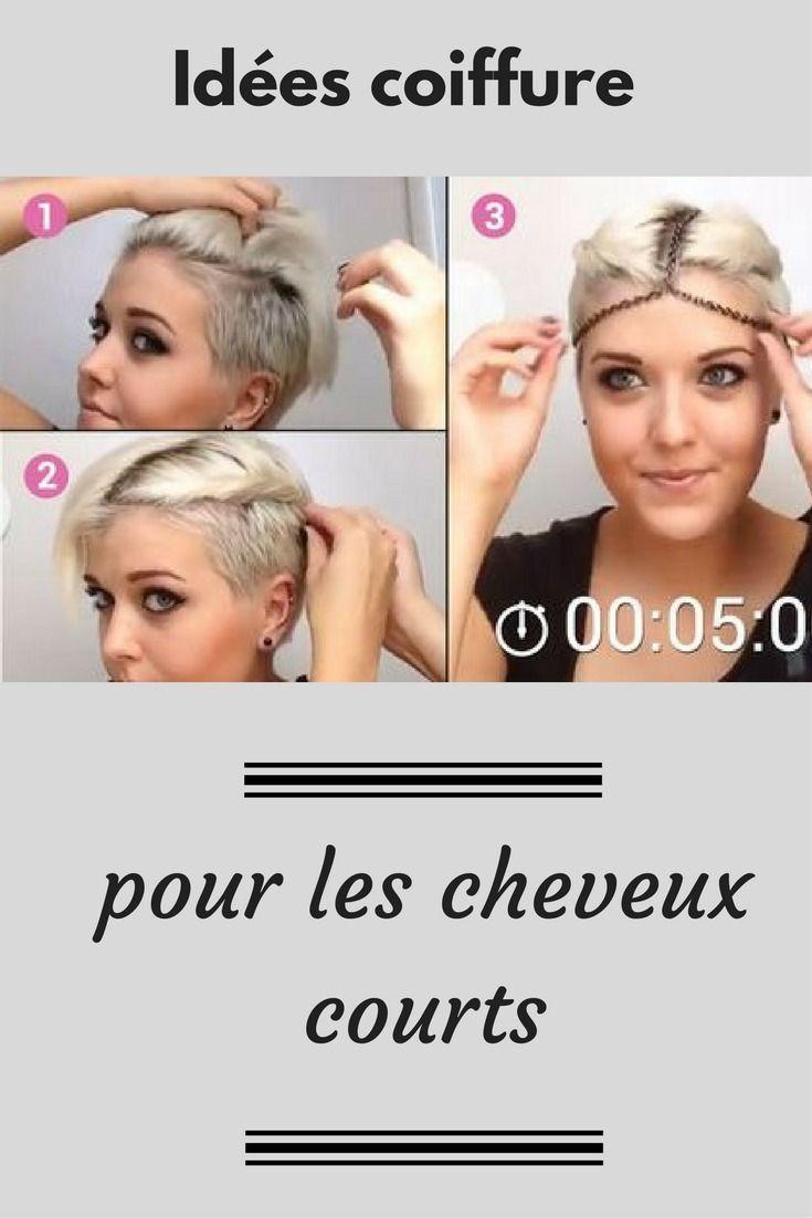 Vous ne savez pas quoi faire avec vos cheveux courts ? Ces idées vont vous aider ! | Cheveux ...
