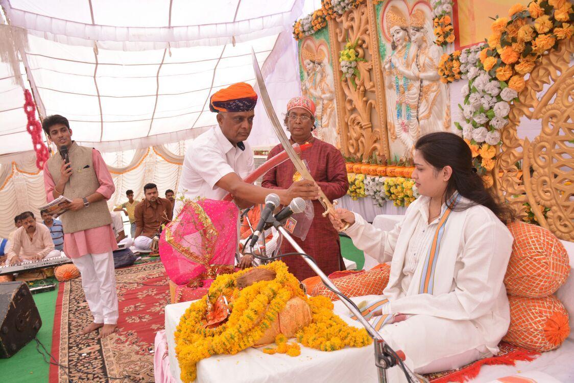 Watch Pujya Prachi Devi ji # Live spiritual katha from