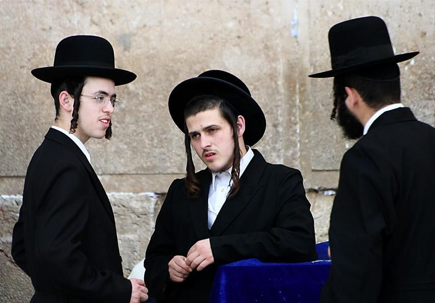 Men's clothing - Israel | World's Traditional Clothing | Jerusalem