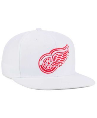 official photos 7bb8a 2ba62 adidas Detroit Red Wings Core Snapback Cap - White Adjustable