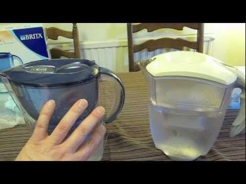 Brita Water Filter Jug Review Of The Marella Xl Versus The Elemaris Xl Comparison Maxtra Technology Youtube Brita Water Filter Water Filter Jugs Water Filter