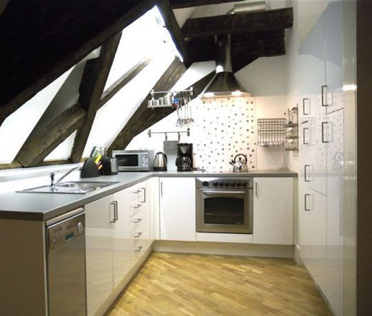attic kitchens pros and cons of cooking in the rafters