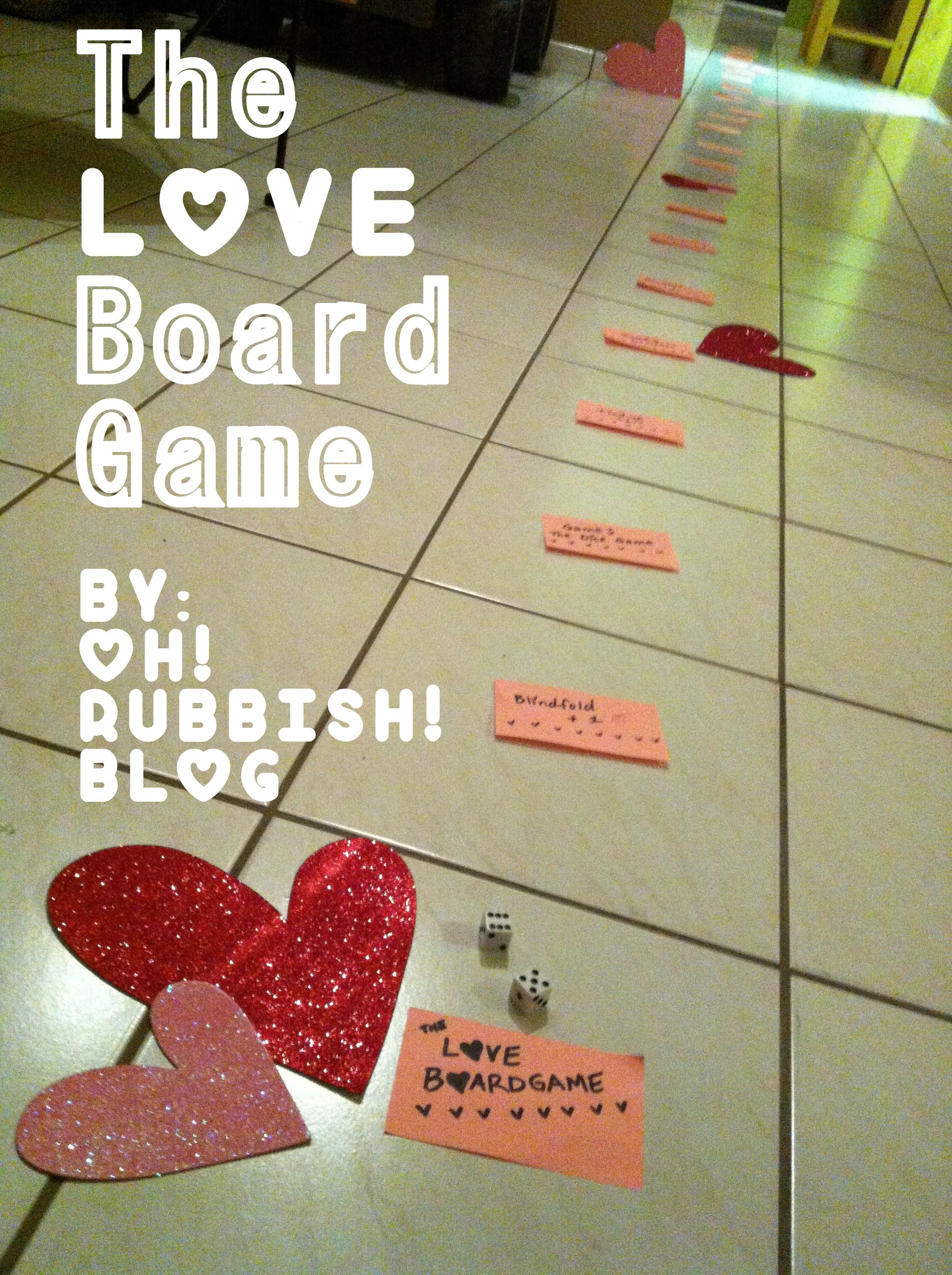 The LOVE Board Game :: VALENTINE GAME FOR COUPLES :: Valentine Day ...