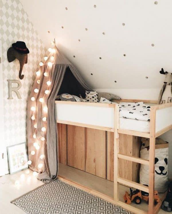 19 Ikea Kura Bed Hacks your Kids will Love #kidbedrooms