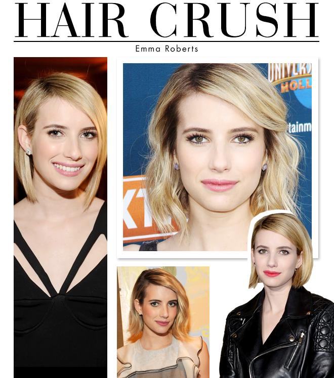 Hair Crush: Emma Roberts' Edgy Bob